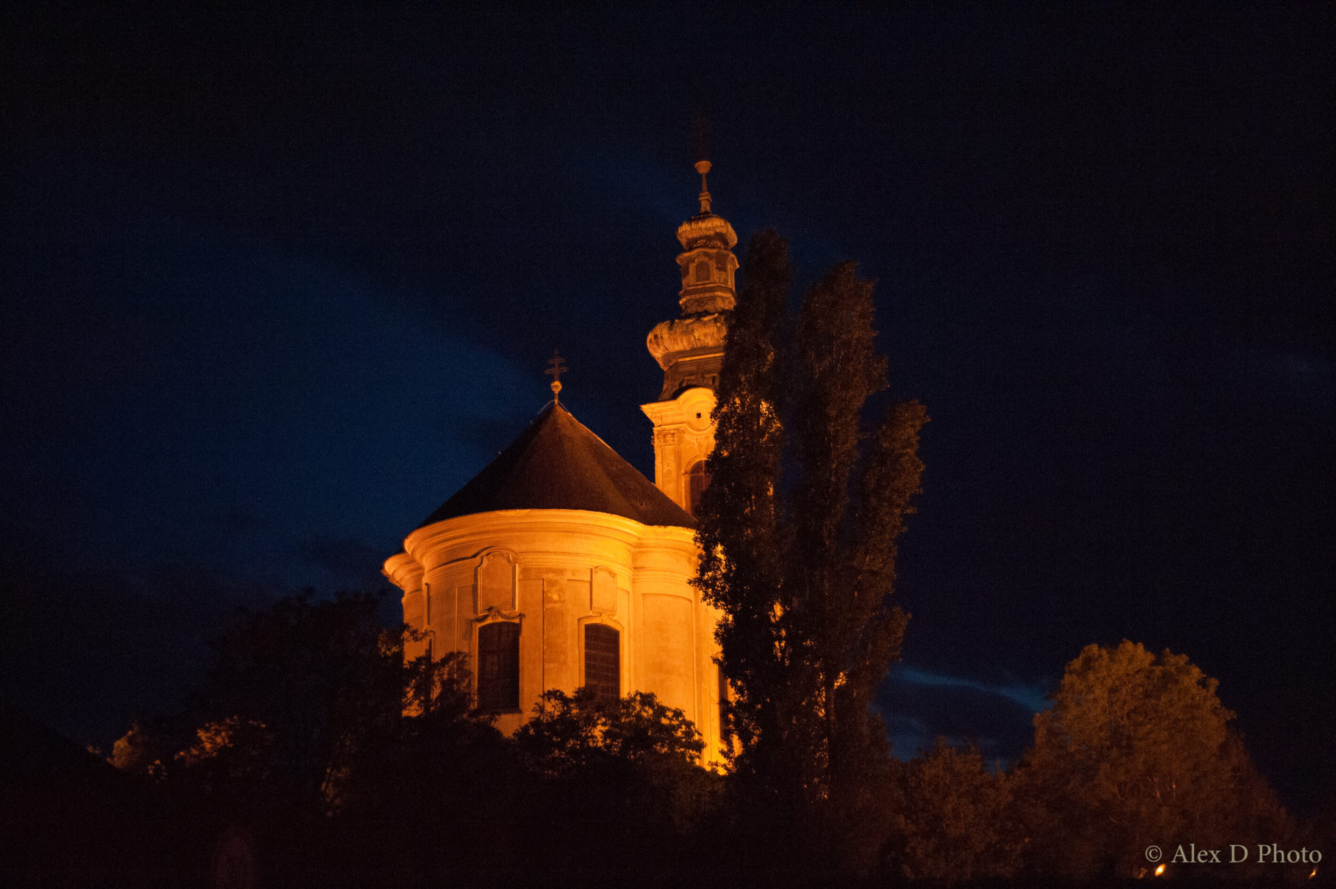 Eger By Night